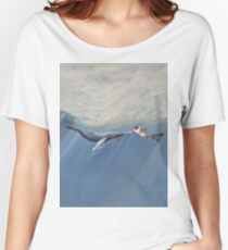 The Creation of Adam the Whale Women's Relaxed Fit T-Shirt