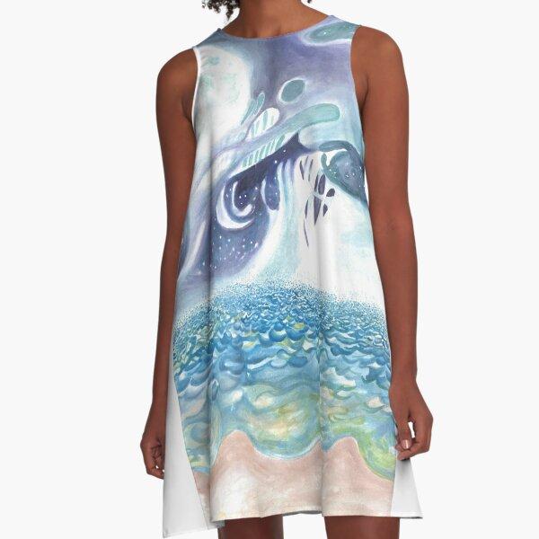 Rorschach A-Line Dress
