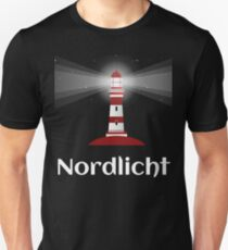 Northern Lights Lighthouse North Sea Sea Tshirt Gift Unisex T-Shirt