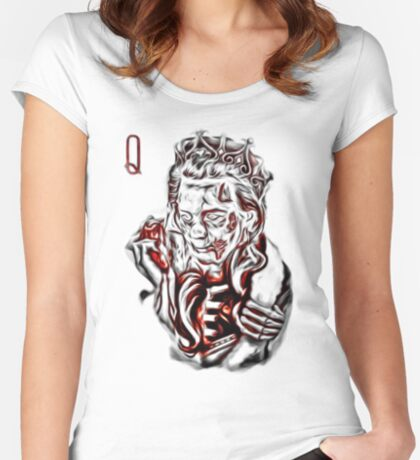 Zombie Queen Fitted Scoop T-Shirt