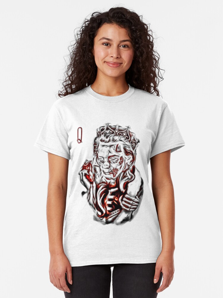 Alternate view of Zombie Queen Classic T-Shirt