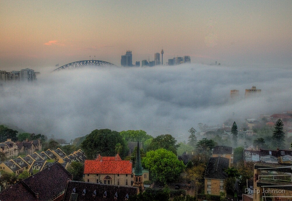 Hide and Seek - Moods Of A City - The HDR Experience by Philip Johnson