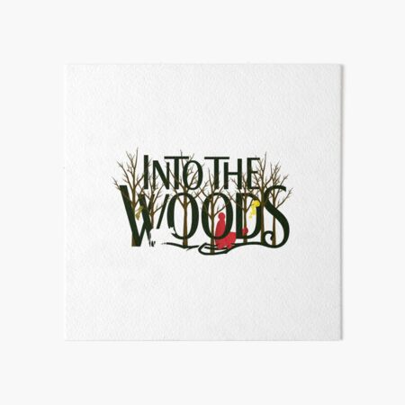 Into the Woods Art Board Print