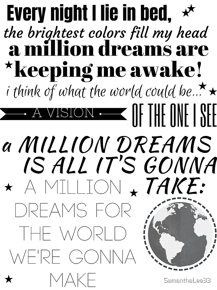 Million Dreams by SamanthaLee33
