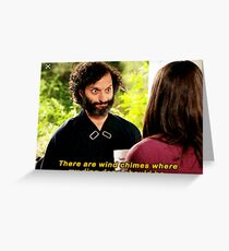 The Good Place Derek Greeting Card