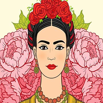 Frida Kahlo Beautiful by edleon