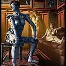 Steampunk Painting 011 by Ian Sokoliwski