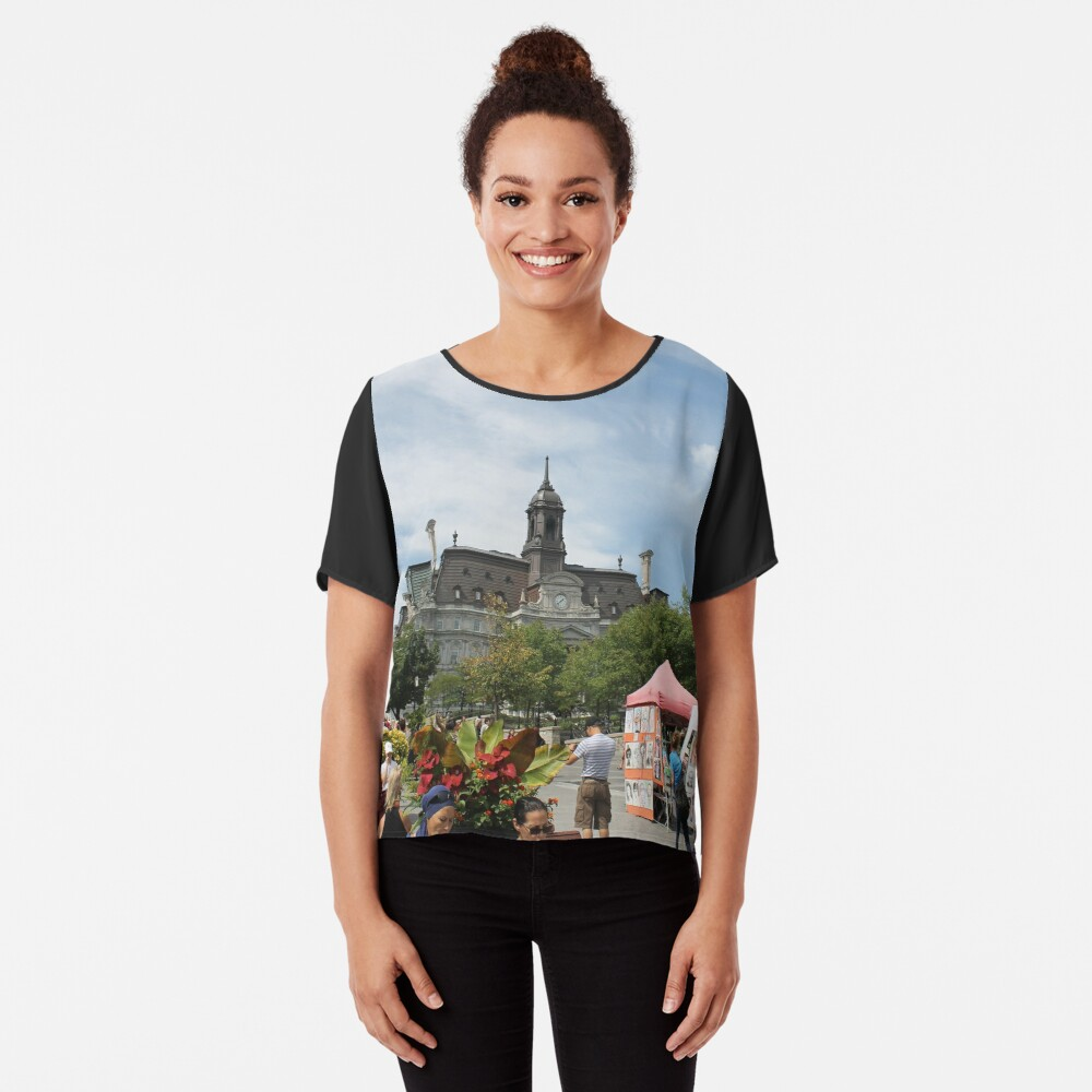 #castle, #architecture #church #building #city #europe #old #tower #town #panorama #house #cathedral #travel #sky #landmark #medieval #view #historic #cityscape #panoramic #river #tourism  Chiffon Top