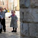 THREE KIDS AND HUNDRED GATES by Gilad