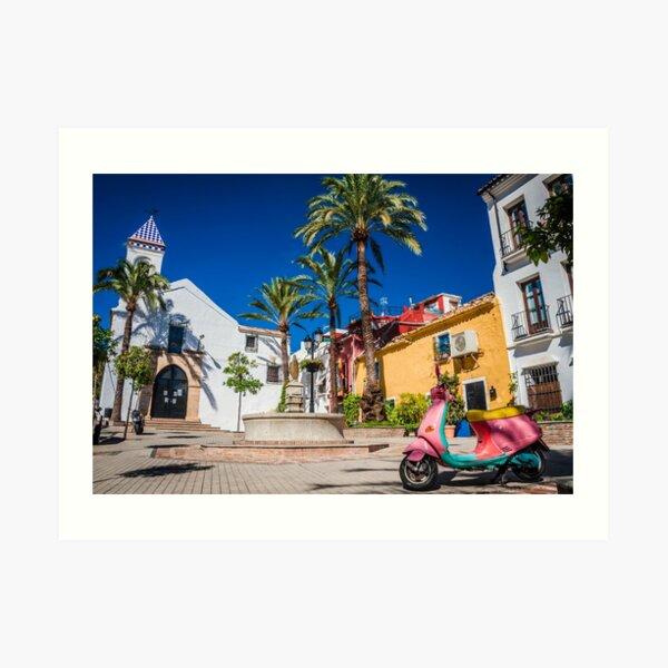 Marbella Art Print