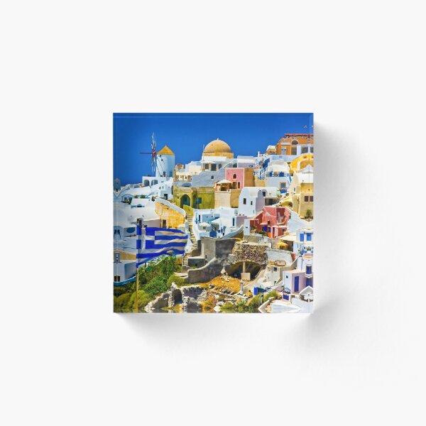 Santorini Acrylic Block