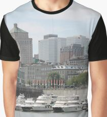 Old Port of Montreal #OldPort #Montreal #Old #Port #city #skyline #water #buildings #architecture #urban #building #harbor #cityscape #sky #downtown #skyscraper #business #river #view #panorama #boat Graphic T-Shirt