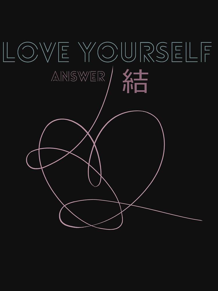 Quot Bts Love Yourself Answer Logo Album Quot T Shirt By Lojakshop