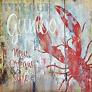 New Orleans Gumbo Restaurant Sign by mindydidit
