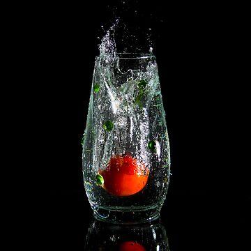A Splash of Tomato by BigRedCurlyGuy