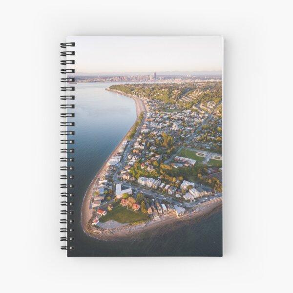 Alki Point Spiral Notebook