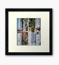 UW Cherry Blossoms - 4 Seasons Framed Print