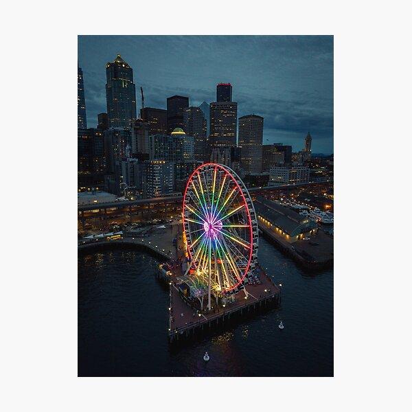 The Great Wheel Photographic Print