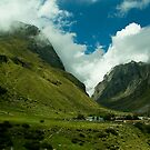 The Nature's Beauty at Badrinath by Mukesh Srivastava