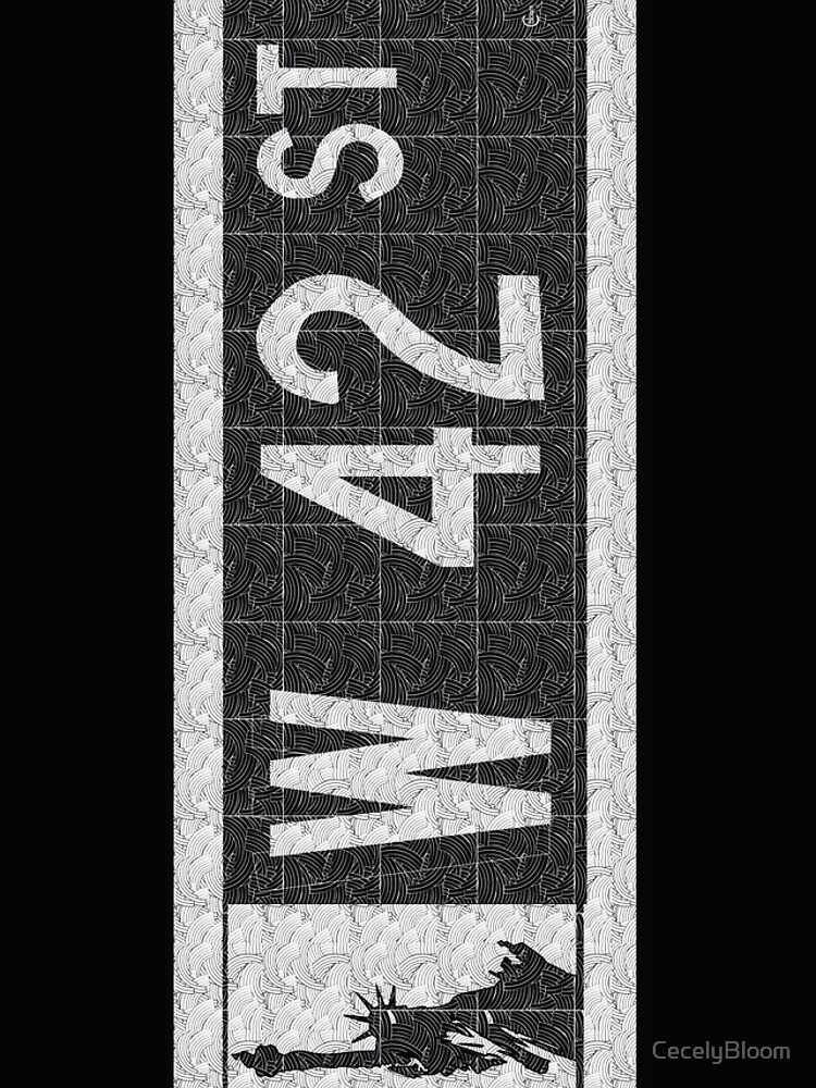 NYC W 42nd Street Sign Deco Swing  by CecelyBloom