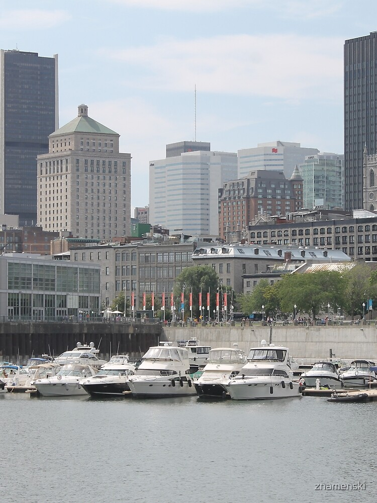 Old Port of Montreal #OldPort #Montreal #Old #Port #city #skyline #water #buildings #architecture #urban #building #harbor #cityscape #sky #downtown #skyscraper #business #river #view #panorama #boat by znamenski