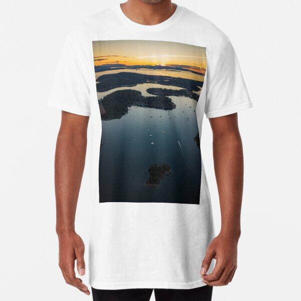 San Juan Islands Long T-Shirt