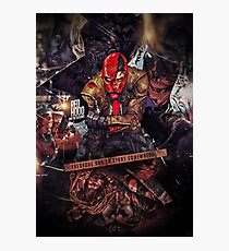 Red Hood - Everyone Has To Start Somewhere Photographic Print