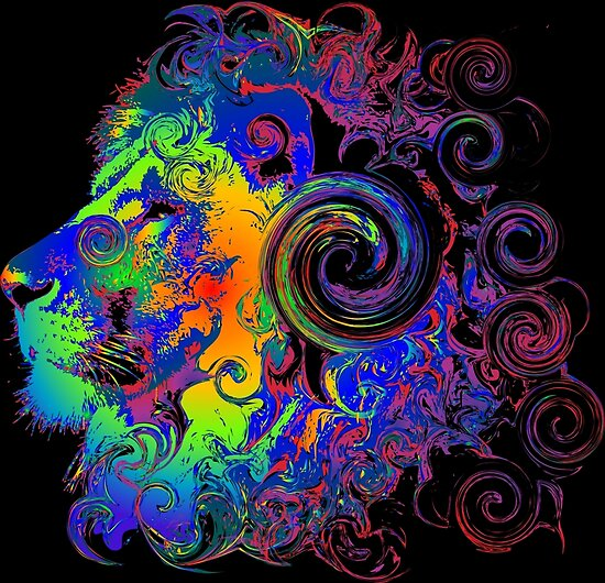 Quot Psychedelic Lion Awesome Unlisted Designs In My