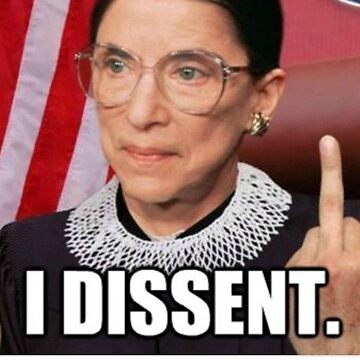 Ruth Bader Ginsburg RBG supreme court justice notorious rbg by HaydenGise