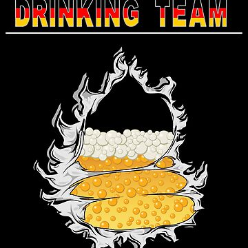 German Drinking Team Oktoberfest Germany by HolidayT-Shirts