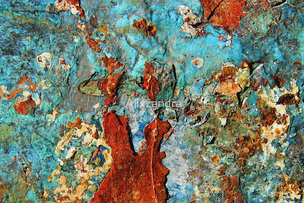 Abstract in Metal ~ Fantasia by Alixzandra