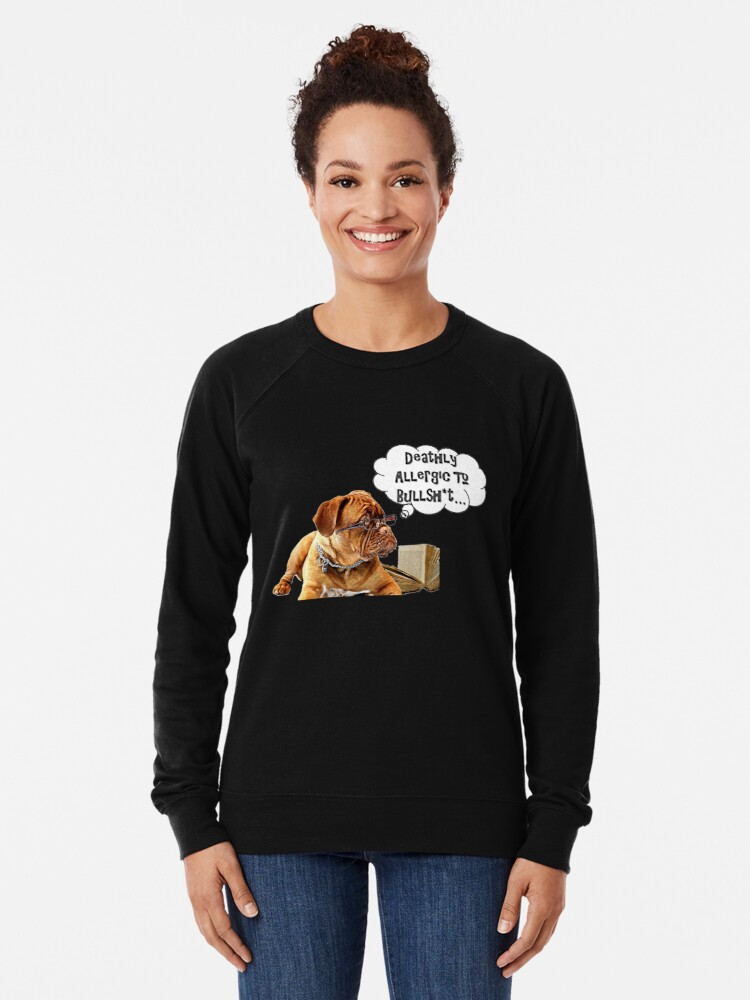 Alternate view of A Skeptic's Perspective on Fake News T-Shirt Lightweight Sweatshirt