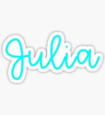 Julia Sticker
