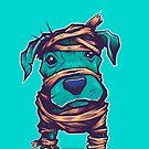 Pitbull Mummy by strangethingsA
