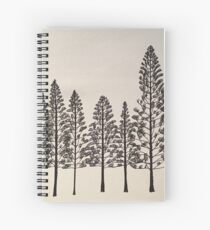 Pines 1 Spiral Notebook