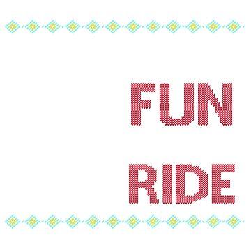 Fun To Ride Ugly Sweater Design by digitalbarn