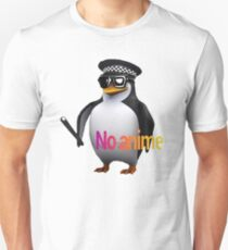 No Anime Penguin Unisex T-Shirt