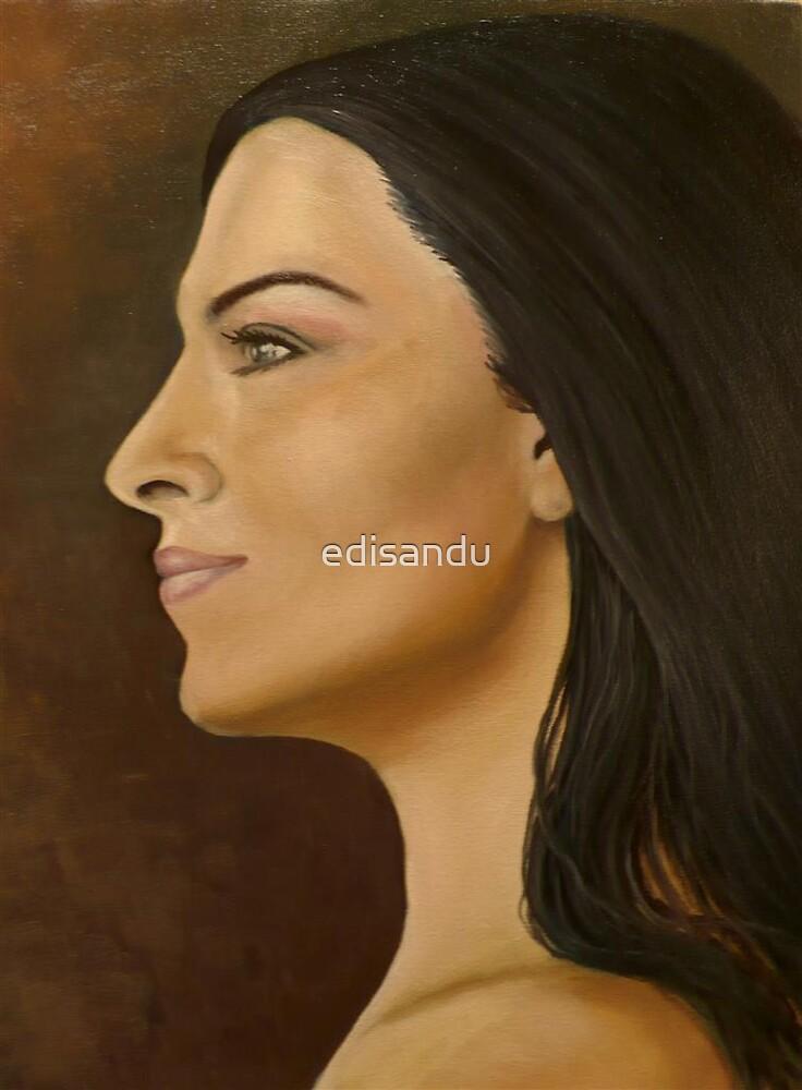 proud Gina by edisandu
