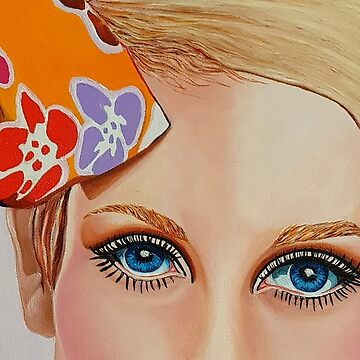 "Twiggy ""I See You"" by ArtbyCPolidano"