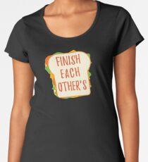 Finish Each Other's Sandwiches : Princess Scene Shirt Women's Premium T-Shirt