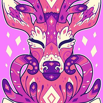Deery - pink by psychonautic