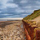 Sheringham Beach Norfolk UK by Mark Snelling