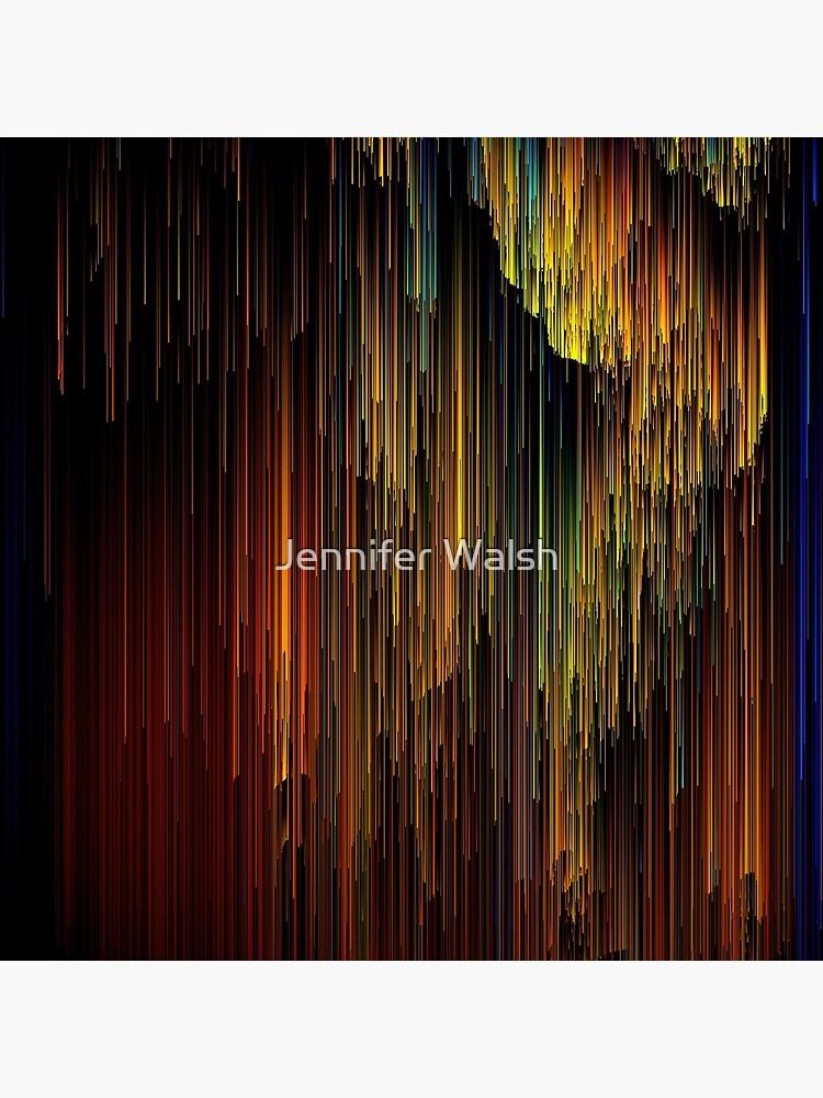 Rainbow Rain Glitches - Pixel Art by InsertTitleHere