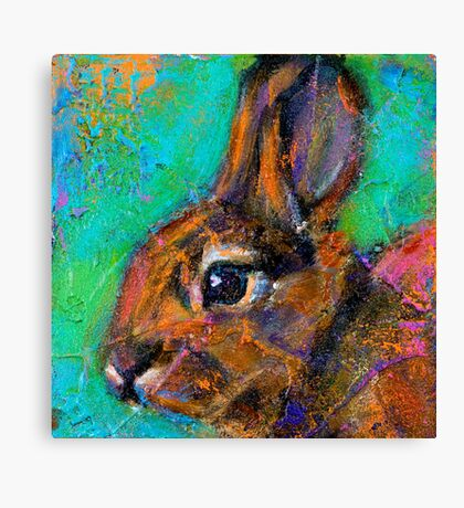 Earth Keeper: Eastern Cottontail Canvas Print