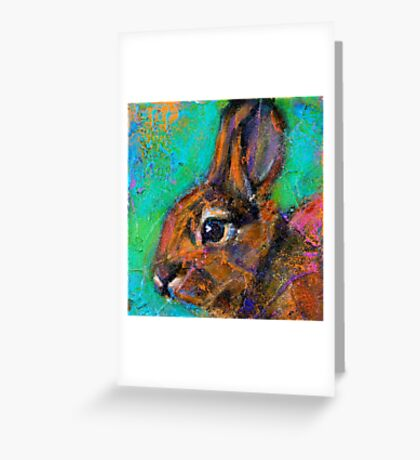 Earth Keeper: Eastern Cottontail Greeting Card