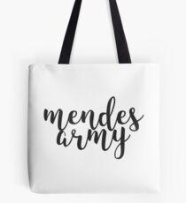Mendes Army Tote Bag