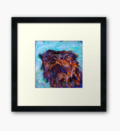 Earth Keeper: River Otter Framed Print