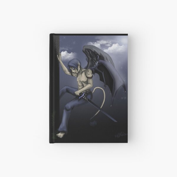 Four Winged Guardian  Hardcover Journal