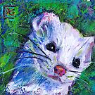 Earth Keeper: Ermine (Short-tailed Weasel) by Rosemary Conroy