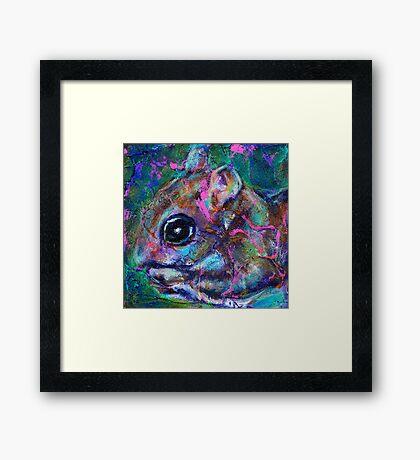 Earth Keeper: Flying Squirrel Framed Print